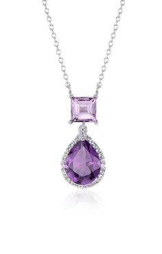 The February birthstone ranges in hue from violet to lavender, wine to raspberry, and has been worn as adornment by royalty.