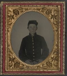 (c. 1861-1865) Young soldier in Union uniform