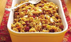 Nothing says comfort food like cornbread stuffing, whether you prepare it for Thanksgiving or as an anytime side to pork chops or chicken.