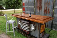 Ford 1949 Grille Bar