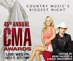 CMA Country Music Awards 2011!  We were there and it was awesome!