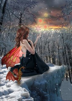 Winter Solstice Fairy by Shadowelve.deviantart.com