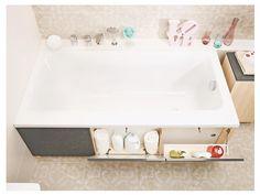Модуль для ванны SMART 160 фронтальный  серый  Cersanit P-PM-SMART*160/Gr