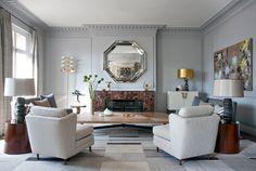 apartamento en París por el arquitecto e interiorista francés Jean-Louis Deniot