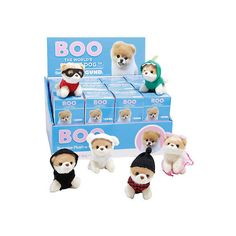 Boo Hot Topic Series Mini Plush Blind Box (35 BRL) ❤ liked on Polyvore featuring home, home decor, dog home decor and hot topic
