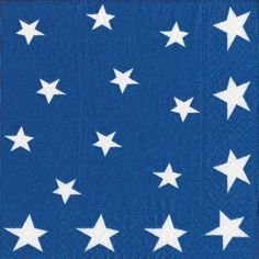 Entertaining with Caspari Stars and Stripes Paper Dinner Napkins, Pack of 20 by Caspari. $6.65. Napkins are made of triple-ply tissue printed with non-toxic, water-soluble dyes; biodegradable and compostable. Pack of 20 paper dinner napkins by caspari. Made of triple-ply tissue printed with non-toxic, water-soluble dyes, measures 5-inch square (folded). Each individually folded dinner napkin measures 7-3/4-inches square and opens to 15-1/2-inches square, pack comes wrapp...