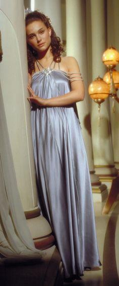 Padme Amidala from Star Wars She looks the most beautiful in the scene where she…