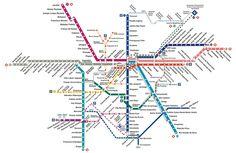 Aplicativo gratuito reúne dados como horário de funcionamento das estações, convergência de linhas e preço das tarifas.