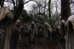 Thirteen wraiths by Alton Towers Resort, via Flickr
