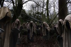 Thirteen wraiths by Alton Towers Resort, via Flickr