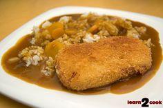 spam katsu curry rice recipe...