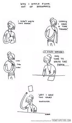 If I had a time turner…