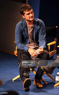 Josh Hutcherson at Paley Fest in Los Angeles 9/8/17