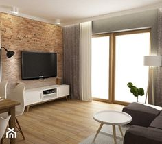 Dom W Rudzie Slaskiej Home Staging, Style At Home, Living Room Designs, Living Room Decor, Interior Exterior, Interior Design, Home Planner, Studio Living, Stylish Home Decor