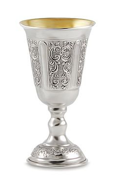 Quality sterling silver Judaica and religious ritual items. Kiddush Cups made in Israel and Italy of pure 925 sterling.