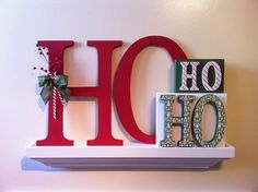 Ho Ho Ho Christmas Decor