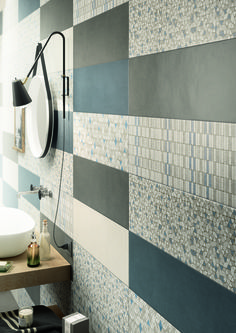 #Marazzi | #Clayline | #bathroom | #walltiles