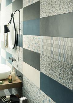 #Marazzi | #Clayline | #bathroom | #walltiles