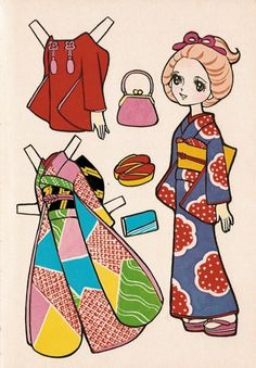 That's All You Do... *1500 free paper dolls at artist Arielle Gabriel's The International Paper Doll Society also free Asian paper dolls at The China Adventures of Arielle Gabriel *