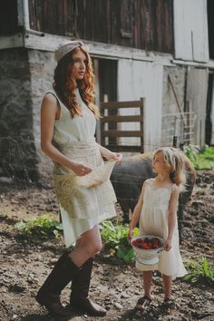 Oh this old pic of my Mama and me on our family farm when I was a girl...