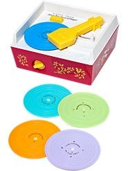 Fisher-Price music box record player...one of my childrens favorite toys (70s-80s) moirakumara