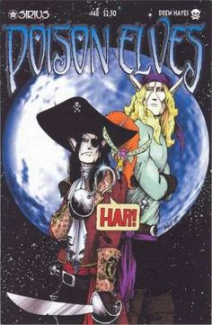 Sirius - Drew Hayes - Moon - Pirates - Sword