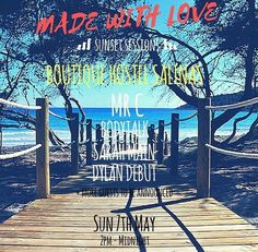 Made With Love sunset session at Boutique Hostel Salinas. Sunday 7th May. BBQ from 2pm for friends and family. #ibizaparty #ibizastyle #ibizanightclub #salinas #ibiza❤️ #ibiza #ibiza🌴 #ibiza🍒 #ibizabeach #ibizanews #ibizalove #ibizalover #ibiza2017 #ibizastyle #ibizasunset #ibizacalling #ibizasummer #boutiquehostelsalinas #madewithlove #mrc #shanewatcha #montereylocals #salinaslocals- posted by Shane Watcha https://www.instagram.com/shanewatcha - See more of Salinas, CA at…