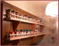 Spice Rack Plano Interesting Easy Woodworking Plan Spice Or Pill Bottle Rack  Create Howto Decorating Design