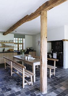modern country kitchen by the style files, via Flickr
