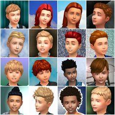 Oepu Sims 4 | love4sims4:  Boys Hairstyles by mystufforigin -...