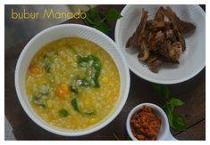 Indonesian Medan Food: Bubur Manado / Tinutuan / Manado Style Rice Porrid...