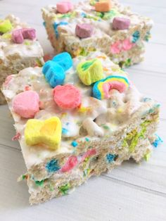 Lucky Charms Krispy Treats! – My Incredible Recipes