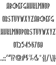 Facets NF font by Nick's Fonts - FontSpace