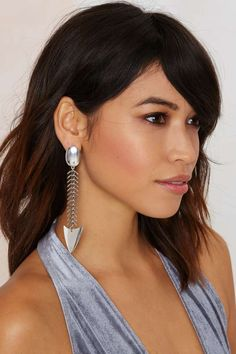 Bad to the Bone Scale Earrings | Shop Accessories at Nasty Gal!