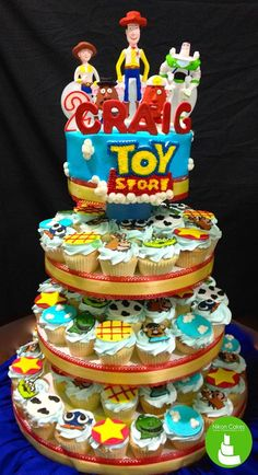 Take a look at these edible Toy Story theme cupcakes. Cool right? Children and other Toy Story fans will surely love them. kiki emoticon  #Birthdaycakes #ToyStory #Disney #CagayandeOro