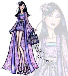#DisneyDivas 'Beach Beauties' by Hayden Williams: Mulan