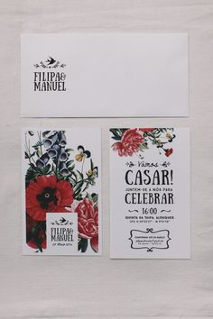 ADORO Wedding invitation // Convite de casamento Blog, Packaging, Paper, Illustration, Wedding, Ideas, Wedding At Home, Civil Wedding, Dream Wedding