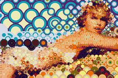 Charlize on Circles by tsevis, via Flickr