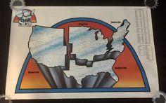 Art Poster: Vintage Advertising Poster Sea Combined With Rudder 1975 Boating Registration