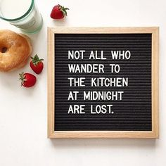 Need for the kitchen: a @letterfolkco letterboard.   #letterboard #kitchenenvy #quote #letterfolk