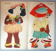 US $95.00 Used in Dolls & Bears, Paper Dolls, Vintage