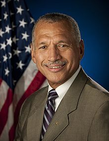 Charles F. Bolden, Jr.(born August 19, 1946) is the current administrator of NASA. He graduated from the Naval Academy in 1968 and served as a U.S. Marine aviator and test pilot before joining NASA's astronaut corps in 1980. He returned to the Marine Corps in 1994, retiring 10 years later as a Major General.  On August 28, 2012 he became the first human being to have his voice broadcast on Mars. #TodayInBlackHistory
