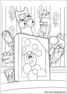 Handy Manny coloring picture