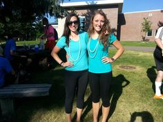 Our Colorado Academy Summer Programs counselors during 80's Week and Twin Day. http://www.coloradoacademysummer.org/