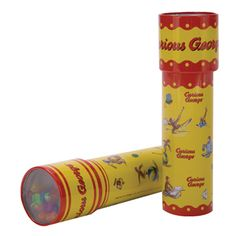 The Official PBS KIDS Shop | Curious George Tin Kaleidoscope - Red