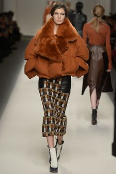 Geometric constructions, lush volumes and a dose of fun hit Fendi's runway. [Photo by Davide Maestri]