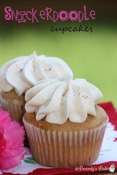 Brandy's Baking: Snickerdoodle Cupcakes