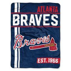 Northwest Company Atlanta Braves Micro Raschel