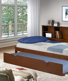for t and d.  Take a look at this Cherokee Bookcase & Trundle Twin Bed by Donco Kids on #zulily today!