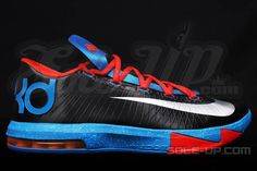 "buy online 28082 c6d27 Preview  Nike KD VI ""Away"" Nike Kd Shoes, Nike Socks, Adidas"